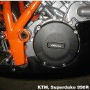 GBRacing Kupplungsdeckelschoner KTM (alle Modell mit LC8...