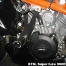 GBRacing Motordeckelschoner SET KTM (alle Modell mit LC8...