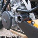 GBRacing Rahmenprotektoren SET unten KTM 990 Super Duke...