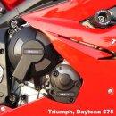 GBRacing Motordeckelschoner Set Triumph Daytona 675 06-10...